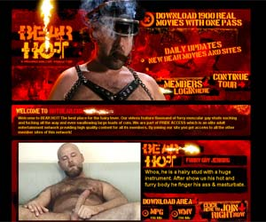 $1 Trial for 2 Days Access To Numerous Amazing Sites; Welcome to Bear Hot ...