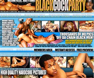 Welcome to Black Cock Party - thousand xxx video of black gays!