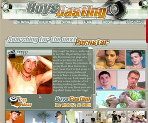 Welcome to Boys Casting - hot young dudes suck and fuck in gay porn!