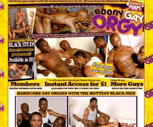 Welcome to Ebony Gay Orgy - hardcore gay orgies with the hottest black men!