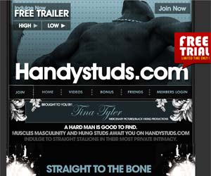 Welcome to Handy Studs - muscles men and hung studs fuck for you!