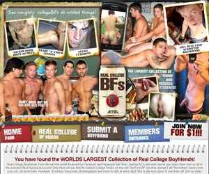 Welcome to Real College BFs - naughty college boyfriends do wildest things in gay porn!