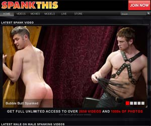 Welcome to Spank This - male spanking gay porn videos!
